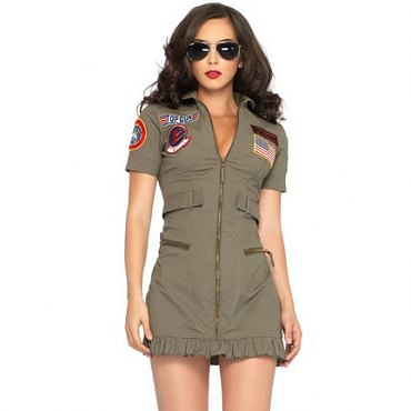 Top Gun Womens Flight Dress Outfit