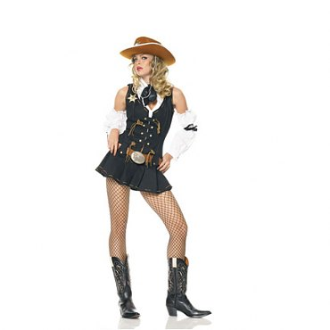 Wild West Sheriff Costume