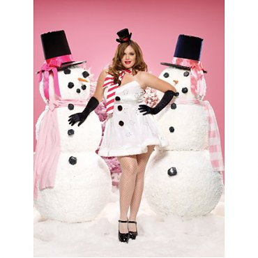 Plus Size Ms. Winter Wonderland Costume