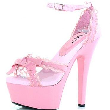 Pink Platform Sandals 601-Erika