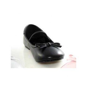 Childrens Black Ballet Slippers