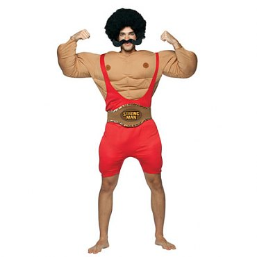 Adult Circus Strongman Costume