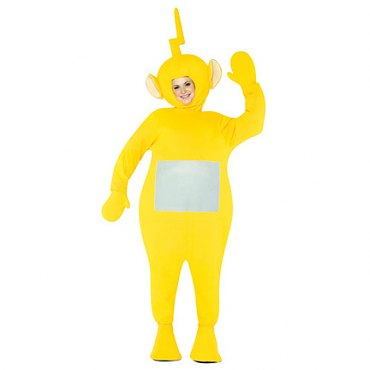 Adult TeleTubbies - LaaLaa Costume