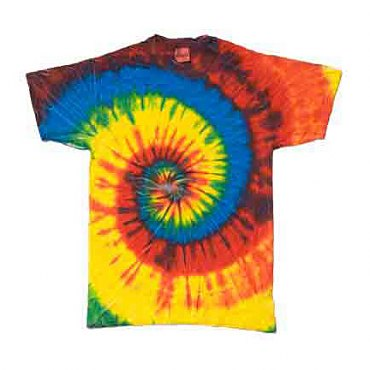 Rasta Blue Tie-Dye T-Shirt