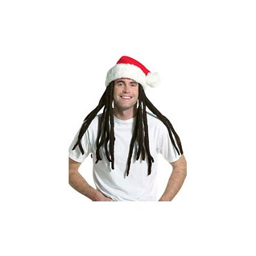Rasta Santa with Dreadlocks