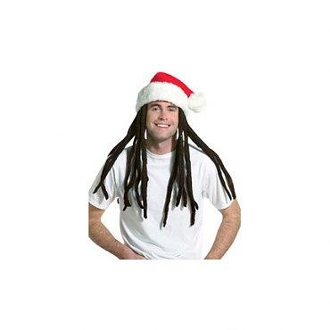 Rasta Santa with Dreadlocks