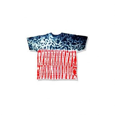 US Flag Tie-Dye T-Shirt