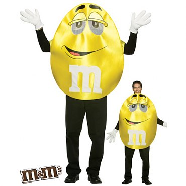 Deluxe Yellow M & M Costume