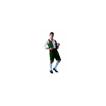 Green Bavarian Man Costume