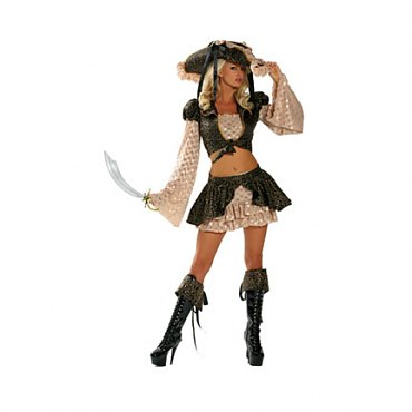 Caribbean Corsair Costume