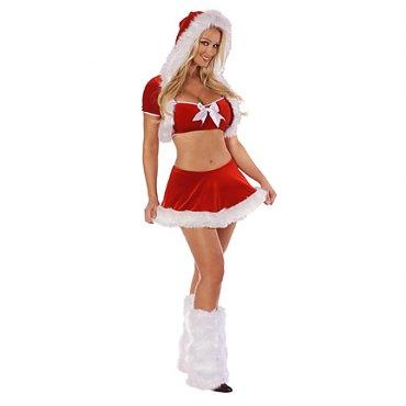 Flirty Santa Costume