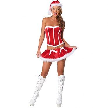 Santa Corset Costume