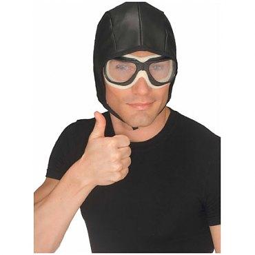 Aviator Helmet & Goggles Set