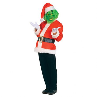 How the Grinch Stole Christmas Costume  sc 1 st  Halloween Playground & Movie Character Costumes