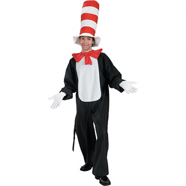 Cat In The Hat Standard Adult Costume
