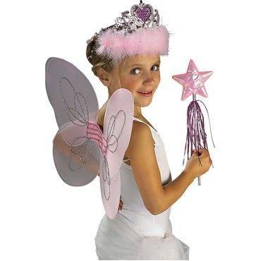 Childs Pink Princess Costume Kit