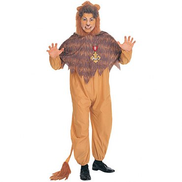 Wizard of Oz - Cowardly Lion Adult Costume