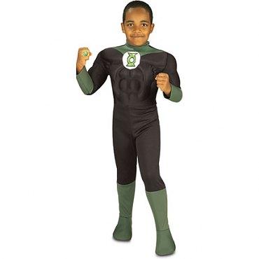 Deluxe Green Lantern Kids Costume