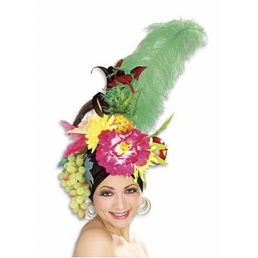 Carmen Miranda Tropical Fruit Hat
