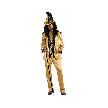 Gold Pimp Costume