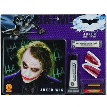 The Joker Wig and Makeup Set