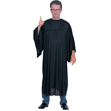 Judge Robe Costume