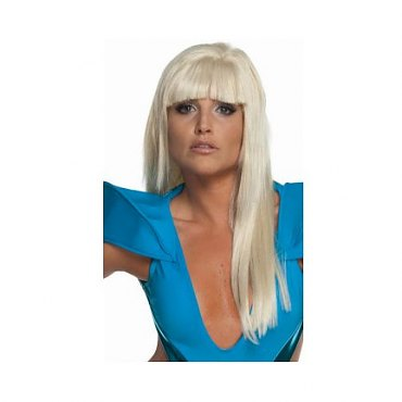 Lady Gaga Long Blonde Licensed Wig