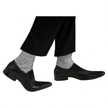 Michael Jackson Pop Star Sequin Socks