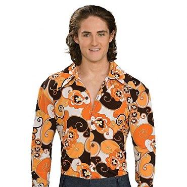 Orange Groovy Disco Shirt