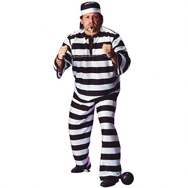 Plus Size Prisoner Costume