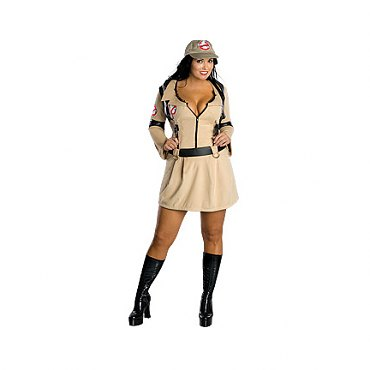 Plus Size Girl Ghostbusters Costume