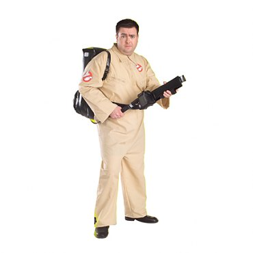 Plus Size Mens Ghostbusters Costume