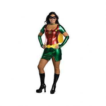 Plus Size Sexy Robin Adult Costume