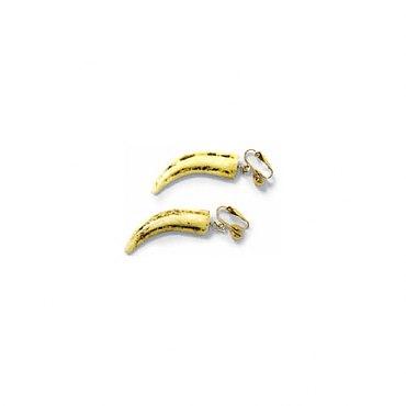 Short Tooth Earrings