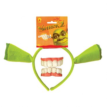 Shrek Ears & Teeth Set