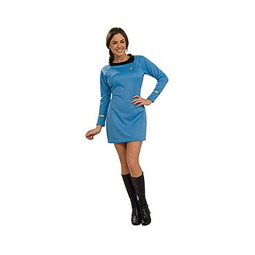 Star Trek Classic Deluxe Blue Dress