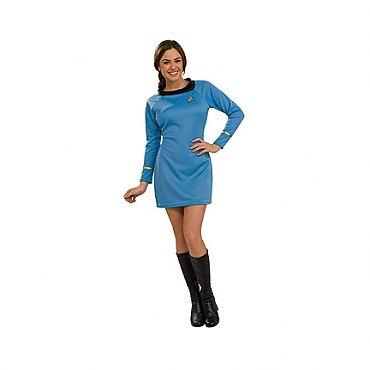 Star Trek Classic Deluxe Blue Dress
