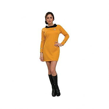 Star Trek Classic Deluxe Gold Dress