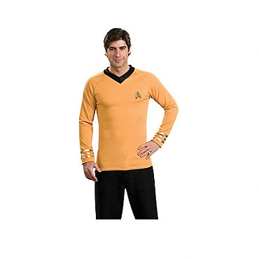 Star Trek Classic Deluxe Gold Shirt