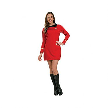 Star Trek Classic Deluxe Red Dress