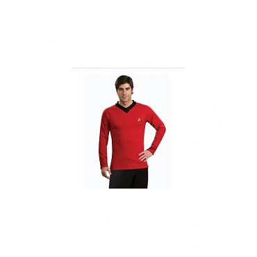 Star Trek Classic Deluxe Red Shirt