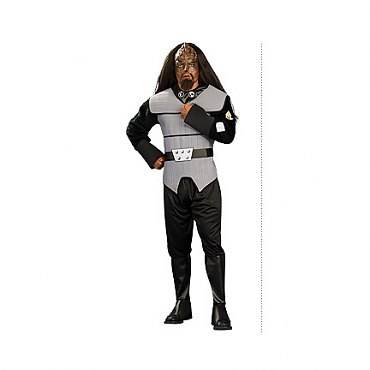 Star Trek Next Generation Klingon Deluxe Adult Costume