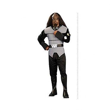 Star Trek Next Generation Klingon Deluxe Adult Costume