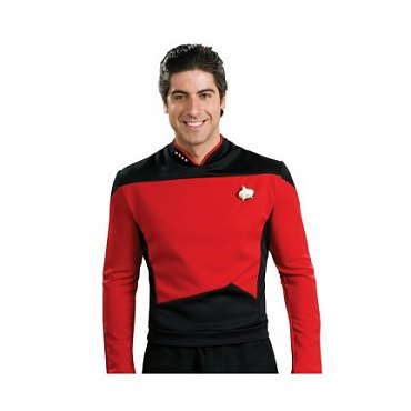 Star Trek Next Generation Dlx. Command Uniform