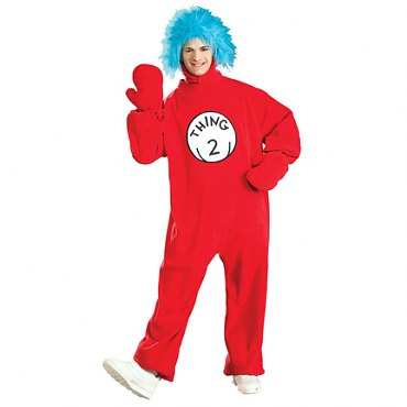Cat In The Hat Thing 2 Adult Costume