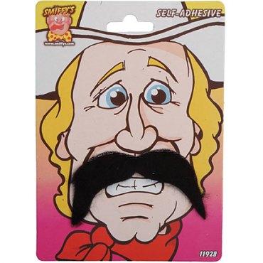 Cowboy Moustache - Black