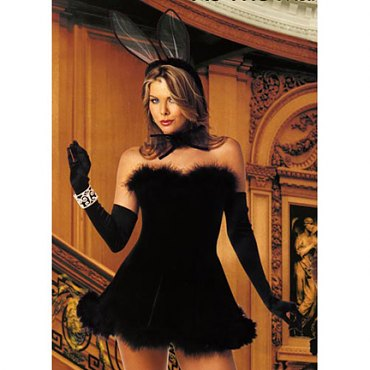 Black Naughty Bunny Costume