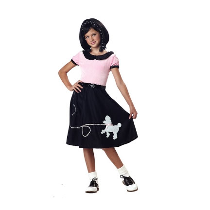 50s Hop With Poodle Skirt Outfit