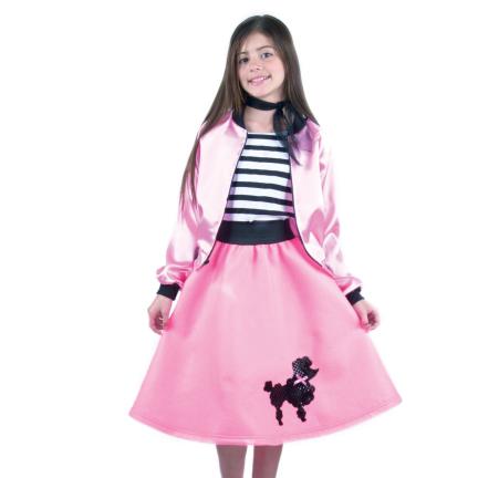 Childs Pink Poodle Skirt