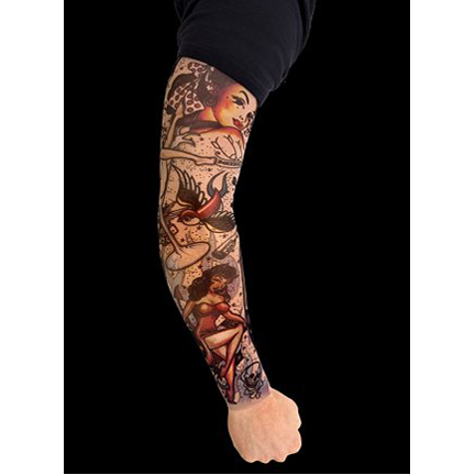 I want share to you tattoo sleeves fake ideas , ussually for make a film or